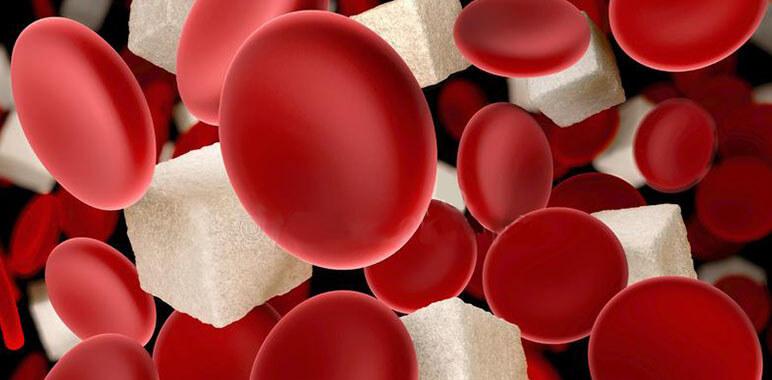 Кровяные тельца с кубиками сахара